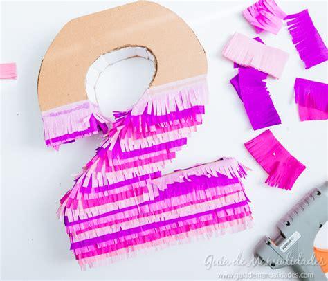 decorar numeros con papel crepe n 250 meros de cart 243 n y papel para fiestas gu 237 a de manualidades