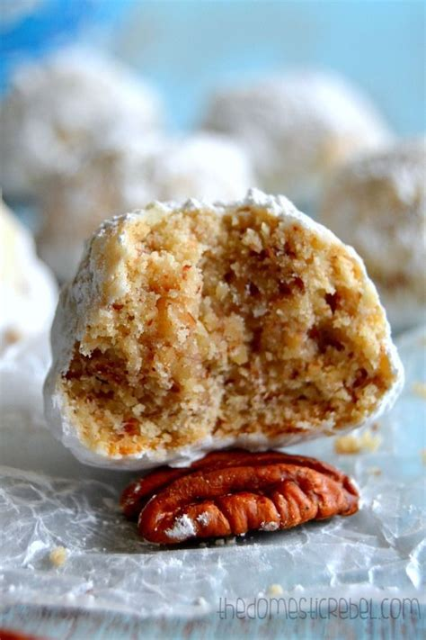 The BEST Snowball Cookies (Or Russian Tea Cakes. Or