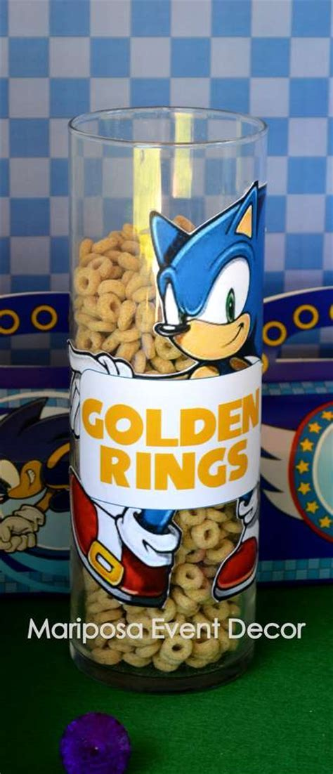 Sonic the Hedgehog Birthday Party Ideas   Photo 1 of 26
