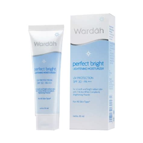 Pelembab Wardah Bright jual wardah bright lightening moisturizer 20 ml