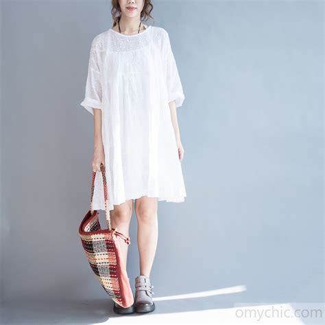 Summer Embroidery Dress 2017 summer white cotton dresses embroidery lace