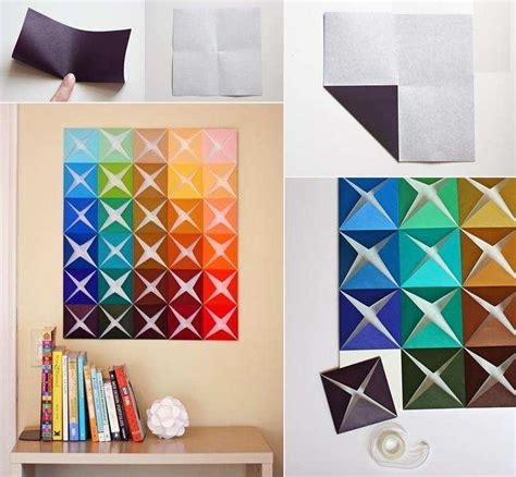 Handmade Artwork - 12 cheap and creative diy wall decoration ideas diy