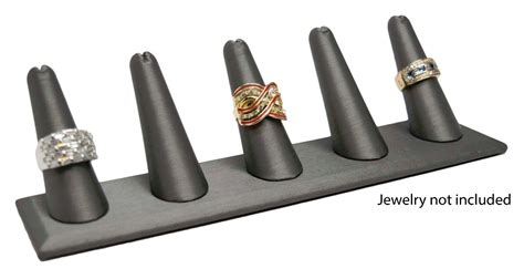 Ring Stand 1 novel box 5 finger ring stand holder jewelry display 8 quot x