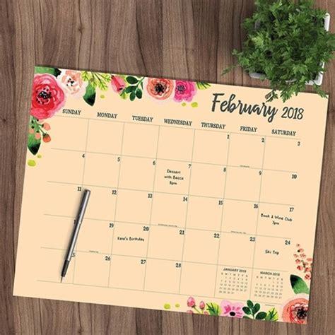 2018 desk blotter calendars 10 99 reg 15 99