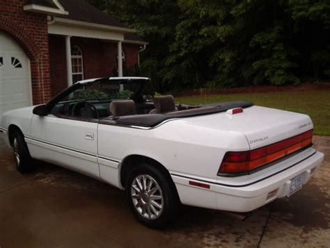 Chrysler Lebaron Gtc by 1994 Chrysler Lebaron Gtc Convertible 2 Door 3 0l