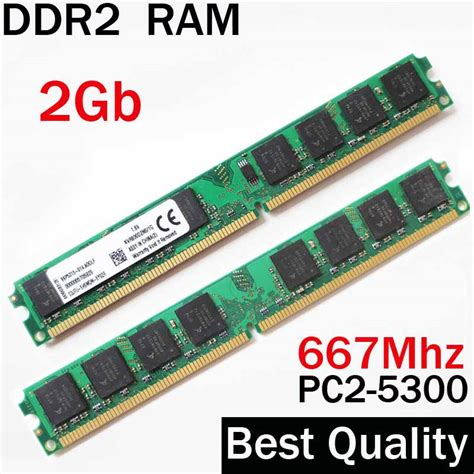Memory Hp 2 Giga aliexpress buy momory ram 2gb ddr2 667 667mhz ddr 2 ram 2 gb for amd and for all ram