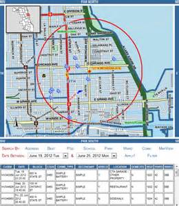 Chicago Safety Map by Is Downtown Chicago Safe How To Find Out