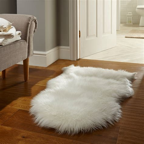 bedroom rugs fluffy soft faux fur shaped carpet rug perfect for
