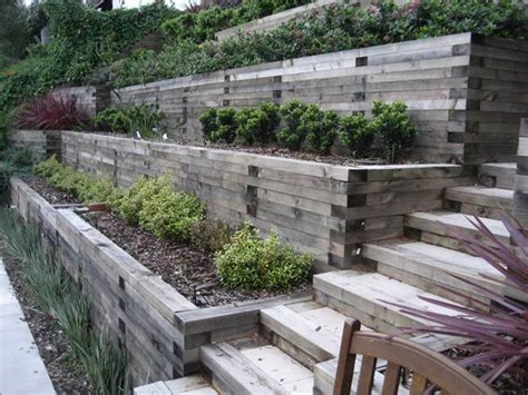how to landscape a hill 25 best ideas about sloped backyard landscaping on