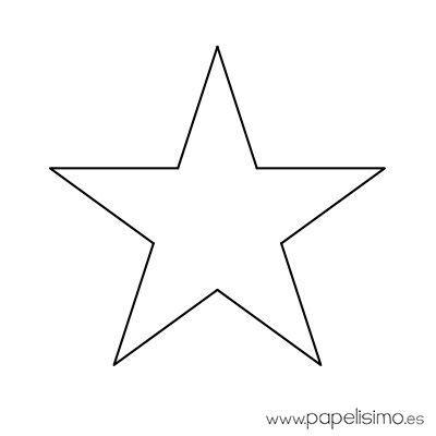 plantillas de estrellas de navidad para imprimir estrella imprimir colorear y recortar 4 plantillas en 2018 colorear estrella y