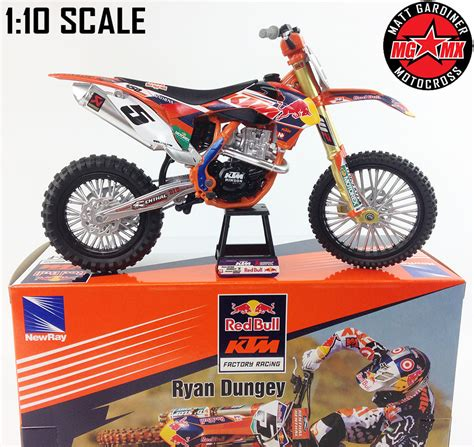 toy motocross ryan dungey ktm sxf 450 1 10 die cast motocross mx