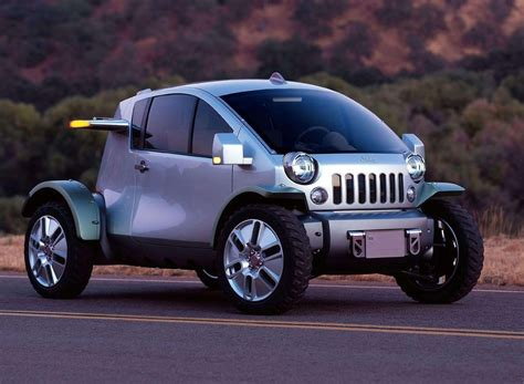 jeep sedan concept concept car of the week jeep treo 2003 car design news