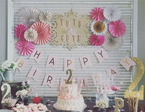 2nd birthday decorations at home tutus birthday quot payton s tutu cute 2nd birthday party