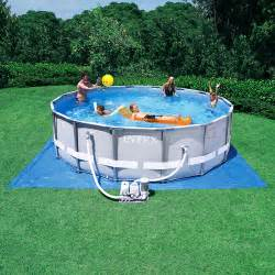 16 x 48 quot ultra frame above ground pool with salt system walmart com