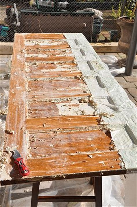 stripping paint from woodwork effective way to paint or finish from a wood