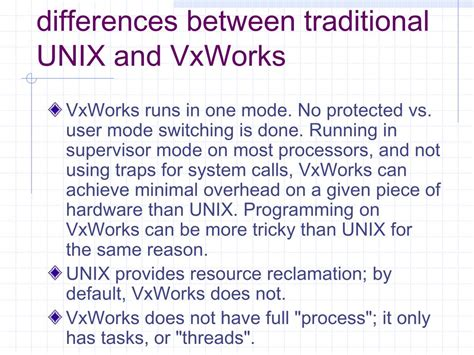 difference between the traditional and ppt vxworks powerpoint presentation id 1322304