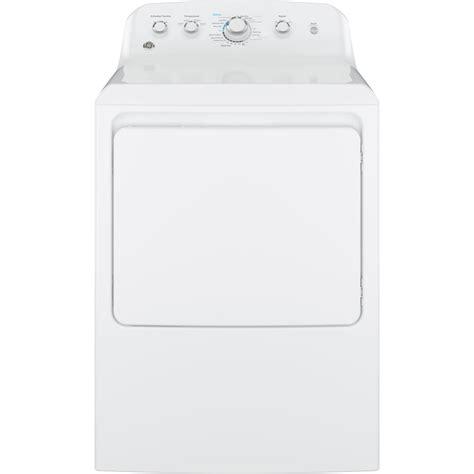 kissenbezã ge shop shop ge 7 2 cu ft electric dryer white at lowes