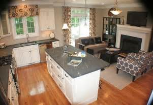 Kitchen And Living Room Spaces Kitchens Yumology