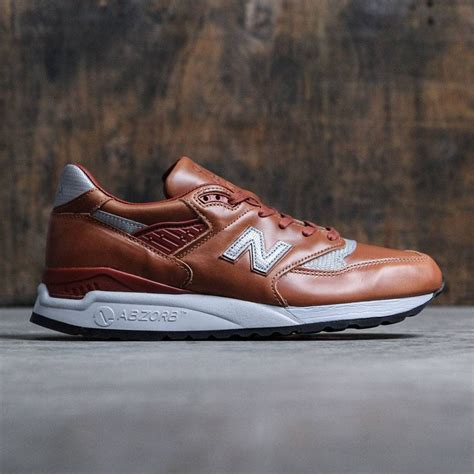 New Balance Silver Brown new balance 998 age of exploration m998besp made in usa brown silver