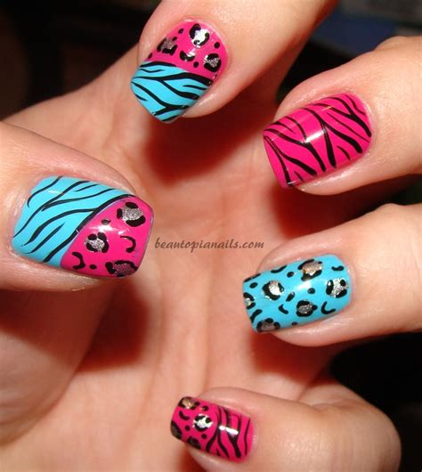 leopard pattern nail art 107 animal print nails art to highlight your wild side