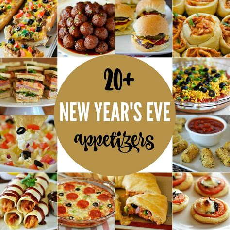 new year food decorations 20 new year s appetizers delicious appetizers