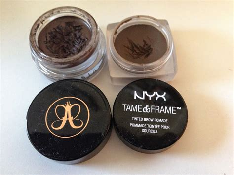 Nyx Pomade nyx brow pomade review dupe for beverly