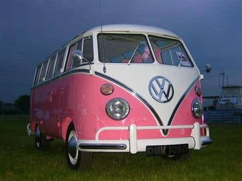van volkswagen pink pink volkswagen hippie van 70 s retro love pinterest