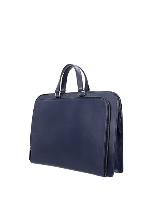 Prada Mix Colour Set 2 In 1 8078 briefcases prada leather blue vr0023baltico ebay