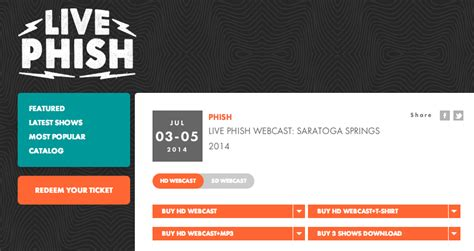 phish couch tour live stream couch tour alert phish to offer paid webcasts for spac