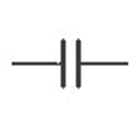 capacitor polarised symbol efundies electronics