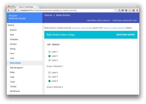 angular material design layout exles javascript for everybody accessibility of javascript mvcs
