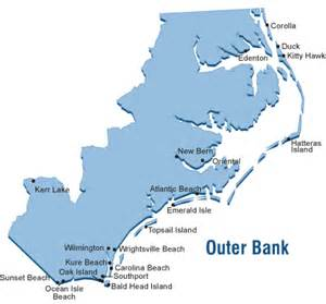 carolina outer banks map outer banks map outer bank carolina vacation