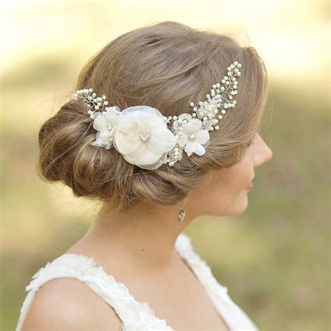 wedding hair sy bridal headpiece wedding hair comb flower hairpiece wedding