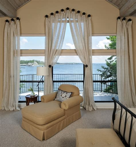 curtain ideas for wide windows fabulous window treatment ideas for large windows decohoms