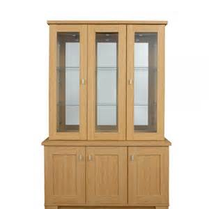 3 Door Display Cabinet Sherwood 3 Door Glass Display Cabinet Furniture Wales