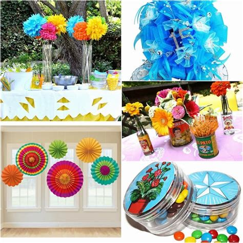 mexican themed quinceanera ideas fiesta sweet fifteen theme quince candles