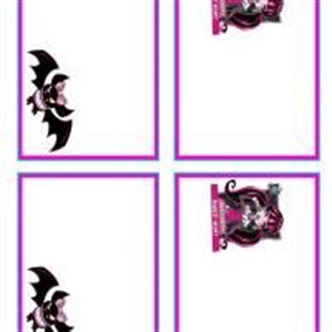 printable monster high bookmarks mh bookmarks monster high bookmarks free printable