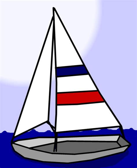 boat clipart sailboat clip free stock photo domain pictures