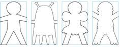 paper dolls template chain paper town on paper houses glitter houses and