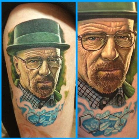 tattoo ink go bad walter white tattoo by steve wimmer at infamous tattoo