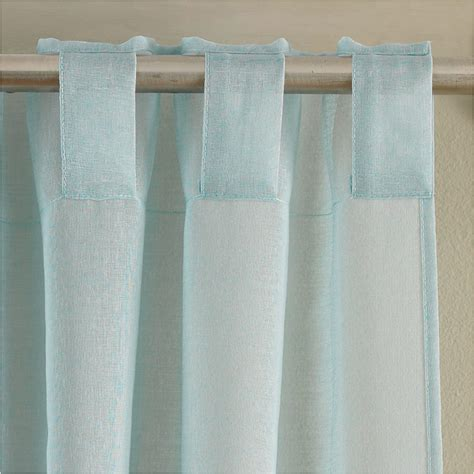 textured curtains amber plain textured voile duck egg curtains