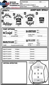 embroidery order form template free best photos of logo embroidery order form template