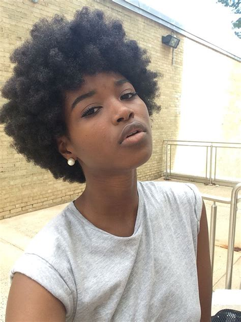 afro hairstyles for black women to wear nappy hair la nouvelle tendance coiffure afro et on