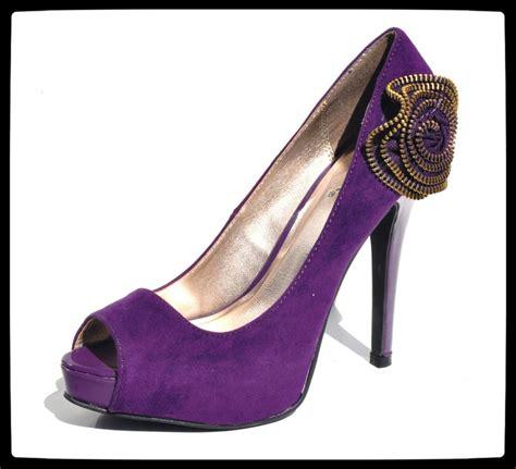 dressy high heel shoes qupid purple open toe womens high heel evening dress