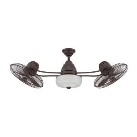 ceiling fan with double oscillating double oscillating ceiling fan lighting and ceiling fans