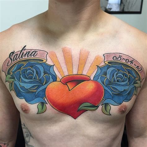 heart tattoos with names for men name tattoos for ideas and inspiration for guys
