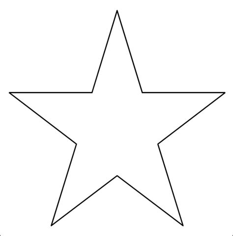 12 best photos of 3d 5 point star template 3d paper star