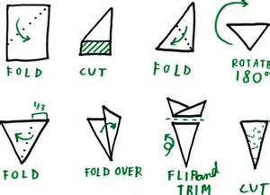 How To Fold Paper To Make A Snowflake - snowflakes 171 ucla