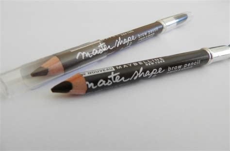 Maybelline Brow review with swatches maybelline master shape brow pencils not another poppie