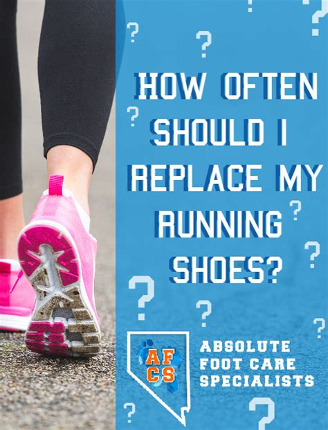 how often change running shoes how often to replace running shoes absolute foot care